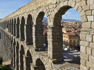 Visita el acueducto de Segovia