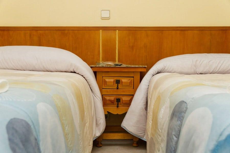 Habitaciones económicas en Segovia