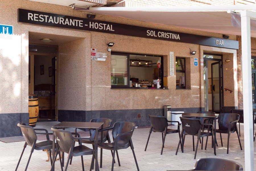 hostal céntrico en Segovia con menú y restaurante